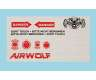 AIRWOLF-kit sticker