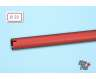 Tail boom 20x750mm, red