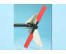 Tail rotor blades red