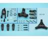 Scale tail rotor fittings set